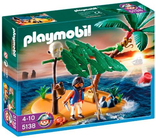 PLAYMOBIL - Isla desierta y náufrago 5138
