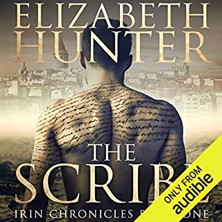 The Scribe                   By:                                                                                                                                 Elizabeth Hunter                               Narrated by:                                                                                                                                 Zachary Webber                      Length: 9 hrs and 24 mins     38 ratings     Overall 4.6