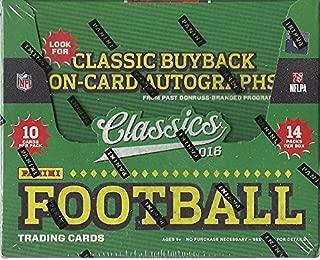 2016 Panini Classics NFL Football HOBBY box (14 pk)