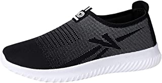 Walking Shoes Men's Slip on Sneakers Outdoor Athletic Fashion Lightweight Shoes