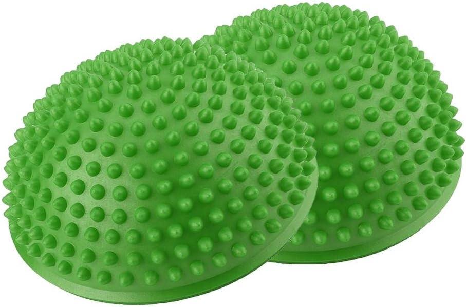 Longzhou Bola de Masaje de pies Medias Bolas de Yoga inflables de PVC Punto de Masaje Fitball Ejercicios Ejercicios Fitness Balance Ball