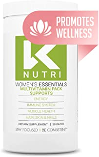 Multivitamin for Women - 30 Packs with Whole Food Energy Vitamins, Immune Support, Bone Strength Supplement, and Hair Skin...