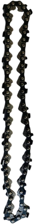 Cadena de motosierra, cadena de sierra eléctrica innovadora resistente al desgaste para la durabilidad, cadenas de motosierra de bajo rebote para motosierra de 6 pulgadas
