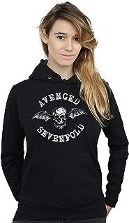 Absolute Cult Avenged Sevenfold Women's Death Bat Hoodie