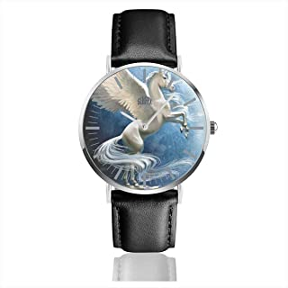Oil Painting Lily Men's Wrist Watches Luxury Waterproof Quartz Casual Watch Women