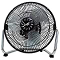 Comfort Zone CZHV9B 9Inch 3 Speed High Velocity Cradle Fan