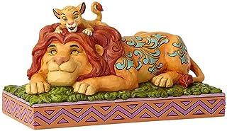 Disney El Orgullo de Un Padre-Simba & Mufasa Figurina, Resina, 10.00x19.50x11.00 cm