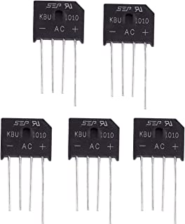 1 pezzo ponte di diodi KBPC 1010 10 amp 1000 volt  4 pin da circuito stampato