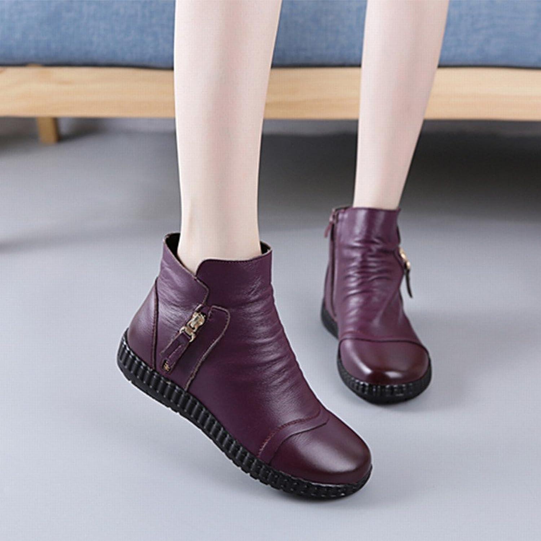 GZZ Herbst und Winter Europäischen und Amerikanischen Frauen Schuhe mit Kurzen Stiefeln Runden Kopf Wasserdichte Stiefel  | Große Auswahl