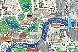 empireposter Malone, Jamie - London Map - Illustration -
