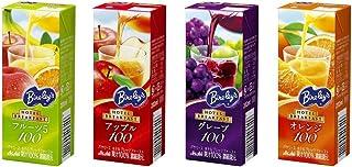 アサヒ飲料 バヤリース ホテルブレックファースト 各種(フルーツ5、アップル、グレープ、オレンジ)200ml 各3本 計12本