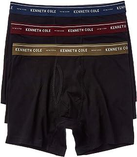 Kenneth Cole New York Men's Cotton-Blend Boxer Brief Set 3 Pack