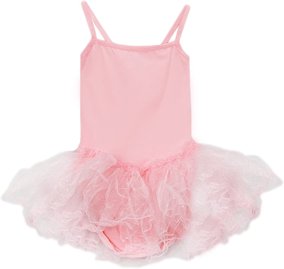 Princess Girls Camisole Tutu Dress in Pink, Lavender, Black, Hot Pink