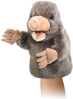 Folkmanis Little Mole Little Puppet