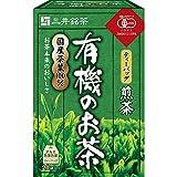 三井銘茶 有機 お茶 煎茶 ティーバッグ 20袋入り×6 / Mitsui Meicha Organic Green Tea 20 Tea bags x 6
