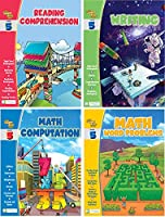 Edgeucational Publishing Smart ALEC (5th Grade) Four Pack Learning Series, Includes: Writing, Math Computation, Reading Comprehension, Math Word Problems