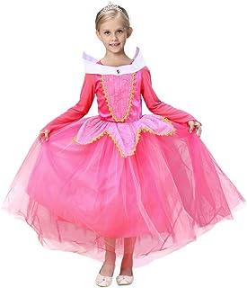 a754d2b297b2 Beauty Top Vestito Abito Principessa Costume Ragazza frozen Bambina  Principessa Vestito Carnevale Tulle Diadema Cosplay Compleanno