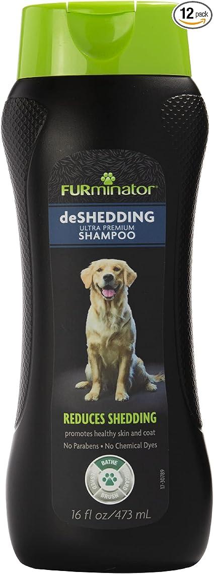 FURminator deShedding Ultra Premium Dog Shampoo to Reduce Shedding
