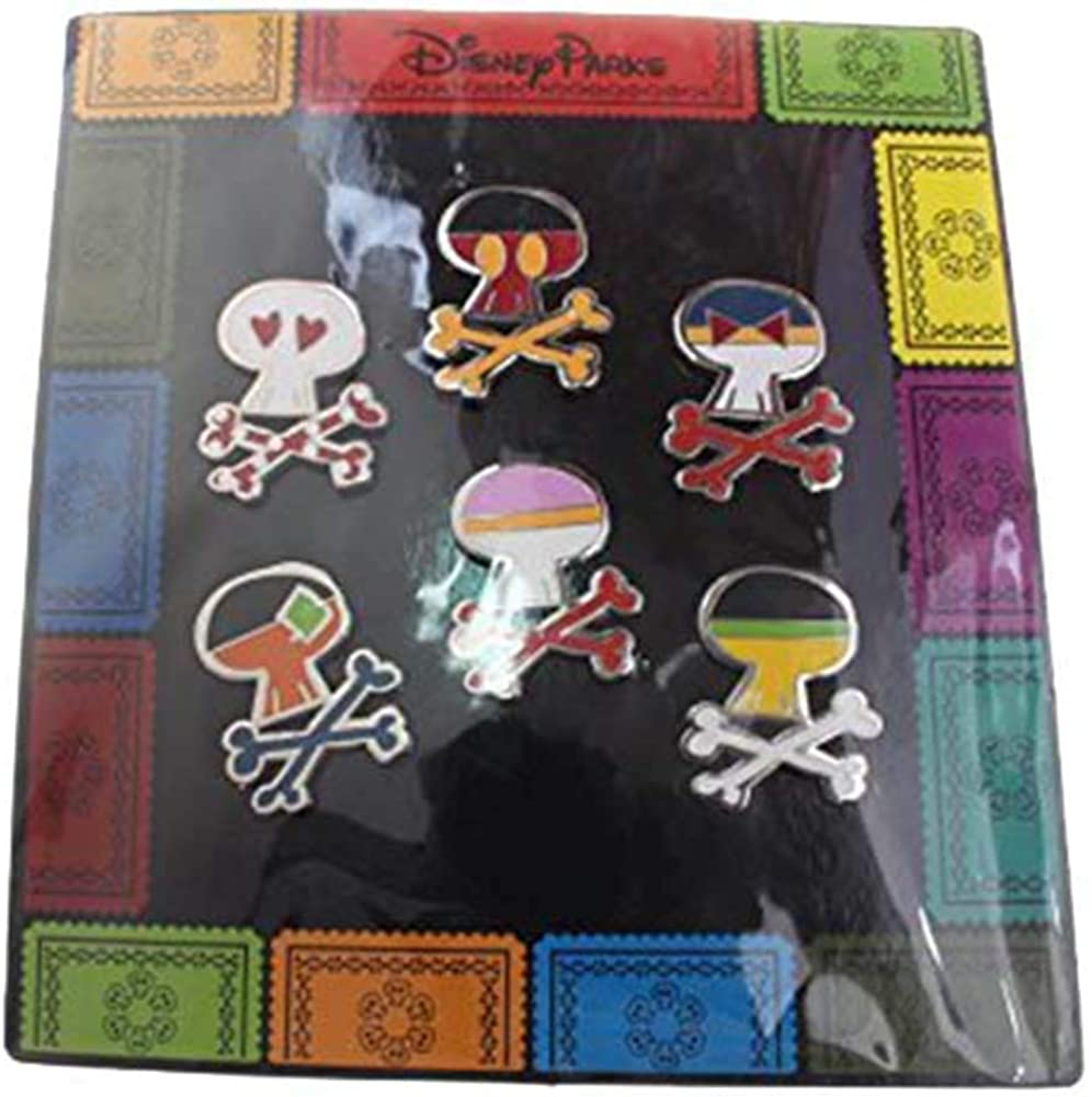 Disney Sugar Skulls 6 Pin Set