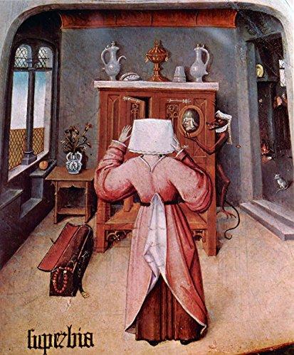 The Museum Outlet – Table avec les scènes of the Seven Deadly Sins Détails [3] par Bosch – A3 Poster