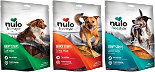 Nulo Freestyle Grain Free Dog Jerky Treat Variety Pack (3 Pack)