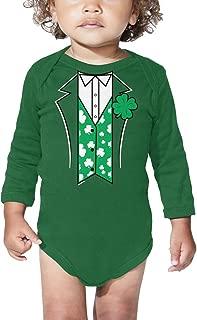 Leprechaun Suit - Four Leaf Clover Bodysuit