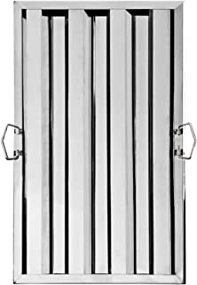 New Star Foodservice 54330 Stainless Steel Hood Filter, 16