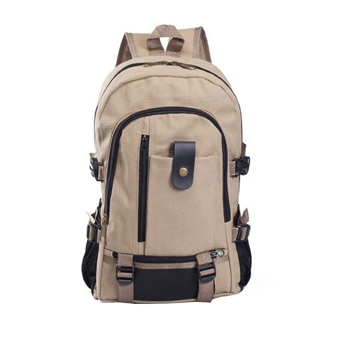 リーン一見タイマーNOTAG リュックサック 帆布 大容量PCバッグ リュック キャンバスバッグ ノートパソコン 収納可能 デイパック 衝撃吸収 男女兼用 多機能バックパック 通勤 通学 出張 旅行 アウトドア