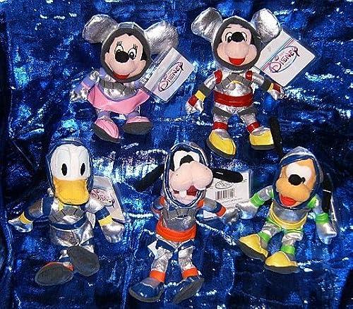 Disney's Spaceman Five Piece 7 Beanie Plush Set by Disney