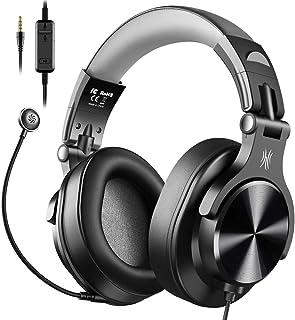 OneOdio ヘッドセット PC用 ゲーミングヘッドセット ノイズキャンセリング マイク付き PS4 ヘッドセット 有線 在宅勤務 テレワーク 会議通話 ボイスチャット PS4 / Xbox/Switch/スマホ A71-D