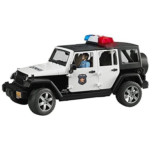Jeep Rubicon Police car with Policeman