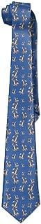 Men's Funny Calvin And Hobbes Neckties Ties Skinny Tie