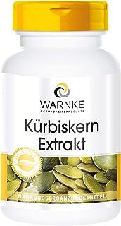 Extracto de semillas de calabaza 500mg – Con Vitamina E y
