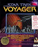 Star Trek, Voyager, 1 CD-ROMLimited Edition Entertainment Utility. Screen savers, 80 audio clips, 40 video clips, 80 images, jigsaw puzzles, and wallpaper. For Windows 3.1x/95 -