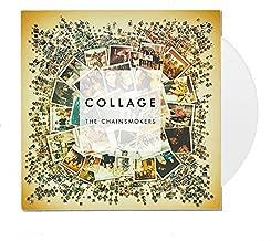 vinyl record collage
