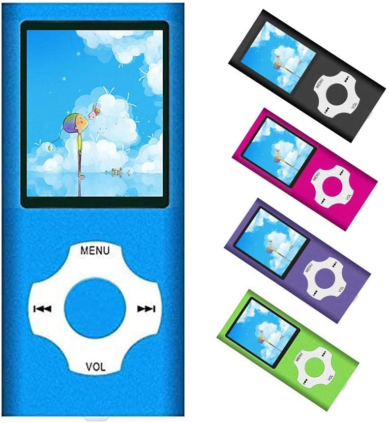 MP3 Player / MP4 Player, Portable Music Player with a 32GB TF Card with Music/Video/Voice Record/FM Radio/E-Book Reader/Photo Viewer, Support up to...