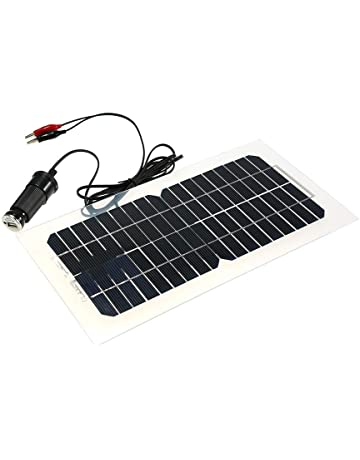 Decdeal 12V 4.5W Portable Solar Panel Power Car Boat Battery Charger Backup Outdoor