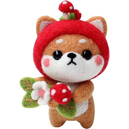 Rabbit Doll Making Manual Non Finished DIY Felting Wool Compact ...