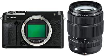 Fujifilm GFX 50R Medium Format Mirrorless Camera GF 32-64mm f/4 R LM WR Wide-Angle Zoom Lens