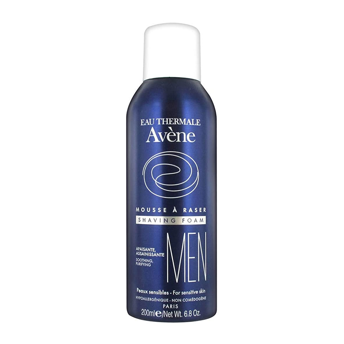広範囲ポータル剪断Avene Man Shaving Foam 200ml [並行輸入品]