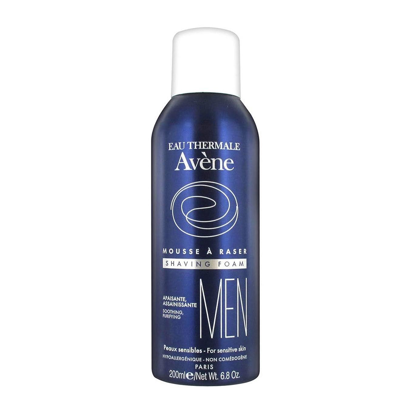 ふける役に立たない溝Avene Man Shaving Foam 200ml [並行輸入品]