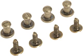 Dophee 12pcs Mini Jewelry Box Furniture Kitchen Knob Chests Drawer Cabinet Pulls Handle - Antique Bress