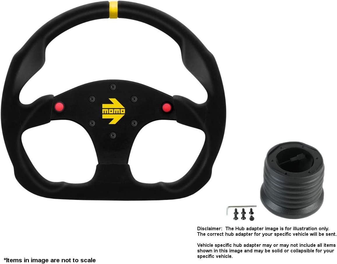 MOMO MOD.30 Buttons 320mm Weekly update 12.6 Inches B w Steering Ranking TOP5 Wheel Suede