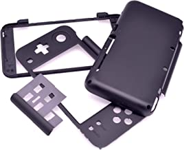 Deal4GO Original Front & Back Housing Case Shell Replacement Part for New Nintendo 2DS LL/XL Black