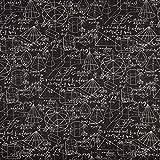 SCHÖNER LEBEN. Dekostoff Gardinenstoff Mathematik Formeln