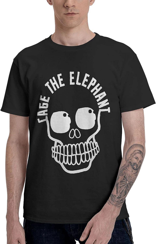 Men's T-Shirts Crew Neck Short-Sleeve Top Novelty Custom Tees Shirts
