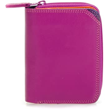 226-127 portefeuille femme en cuir mywalit royal small wallet w// zip around purse