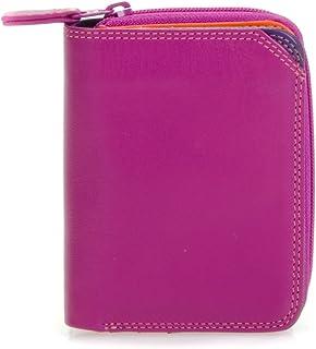 mywalit Women's Small Wallet W/Zip Around Purse Purple