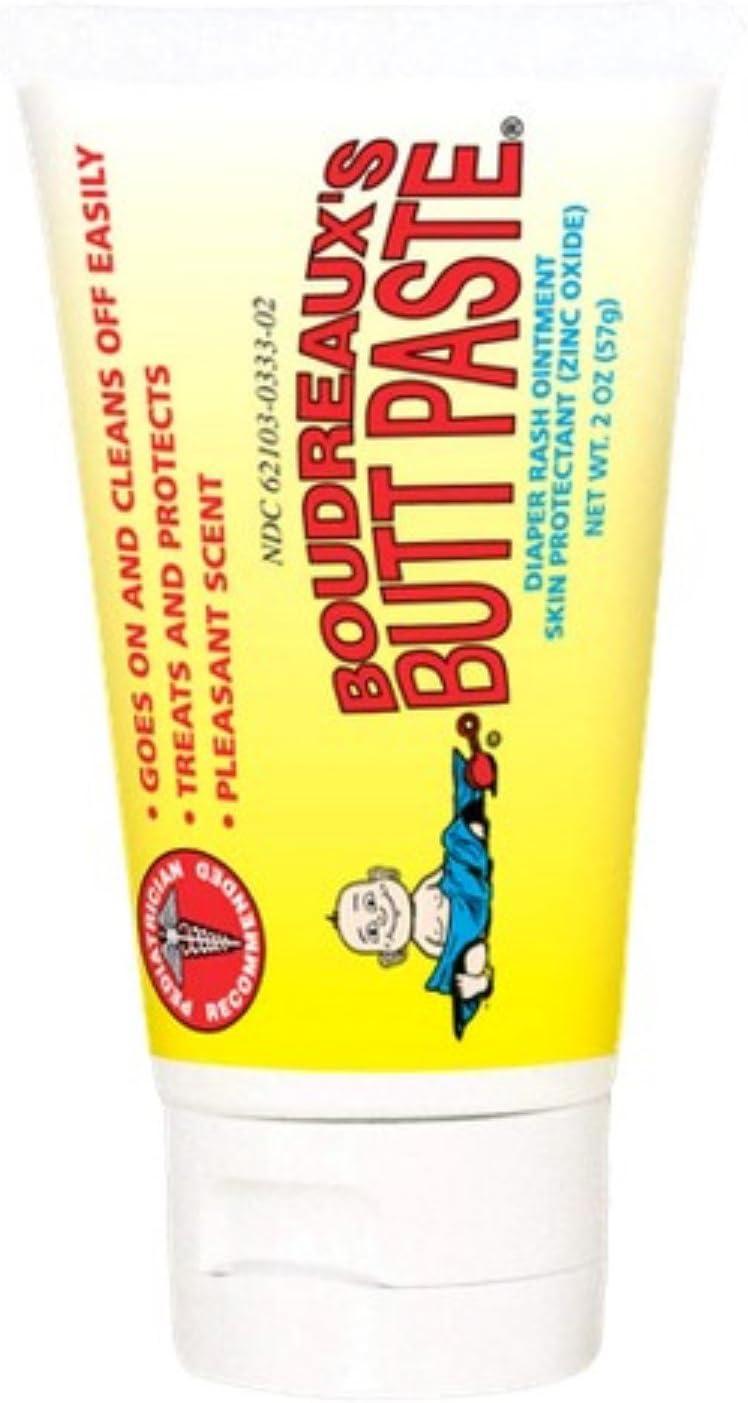 Boudreaux's Butt shop Paste famous Diaper Rash Pack Original Ointment oz 2