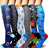 Sooverki Calcetines de compresión para Mujeres y Hombres 20-25 mmHg es el Mejor Graduado ...